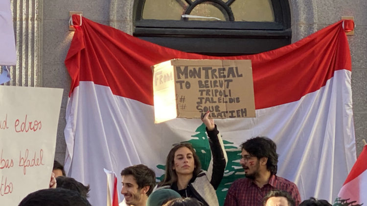 Over 1000 Attend Today's Montreal Protest For Lebanon
