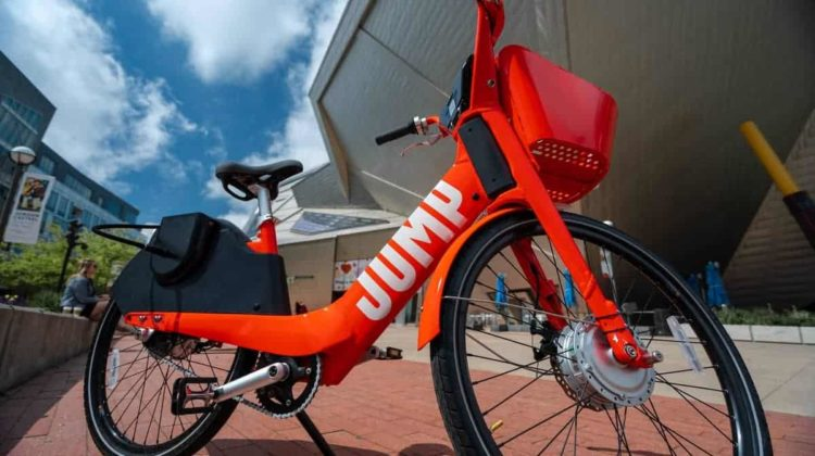 Giving Uber Jump Bikes a Try