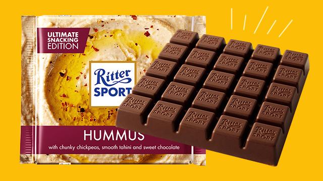 Ritter Sport Reveals New Hummus Flavor