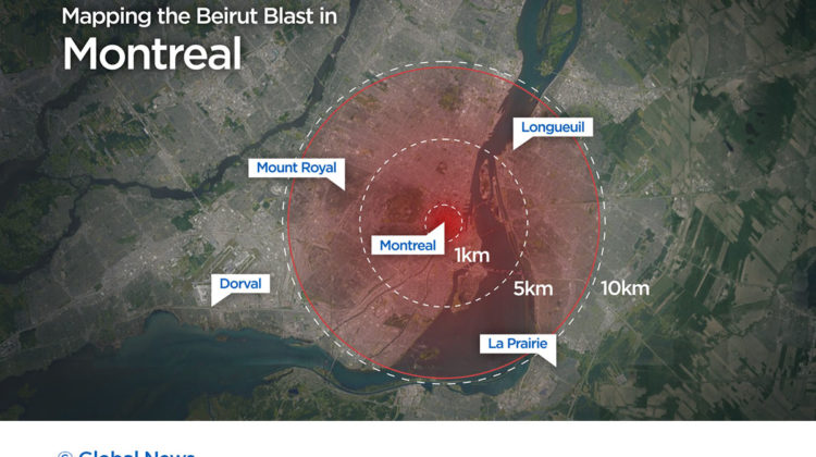 Beirut Explosion: How It Would Look Like in Montreal, Toronto & Vancouver
